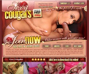 Sexy Cougars - They are on the prowl for cock