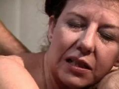 Two depraved mature women in orgy