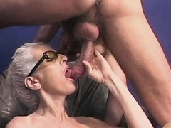 Mature has hot oral sex